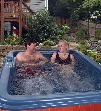 4 person plug and play 120v hot tub