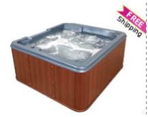 Plug and Play 5 Person Hot Tub